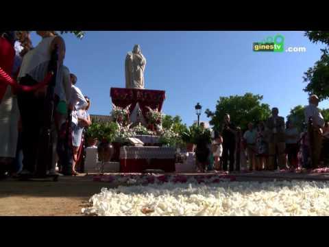Gines celebra este jueves el Corpus Christi, fiesta local en el municipio