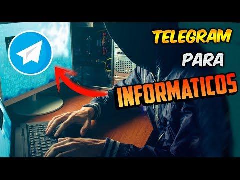 Nuevo SUPER Grupo De TELEGRAM Para INFORMATICOS! / Novatos Y EXPERTOS
