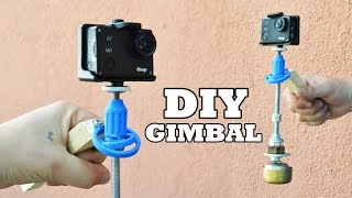 Repeat youtube video DIY Camera Gimbal for Under 5$