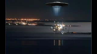 Смотреть всем!!! НЛО  наблюдает за  крымским мостом.