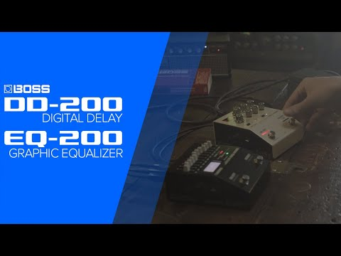 Boss EQ-200 Graphic Equalizer Pedal | Sweetwater