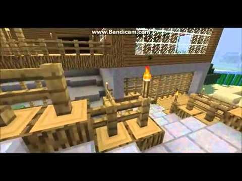 Las mejores casas de minecraft youtube for Las mejores fachadas de casas