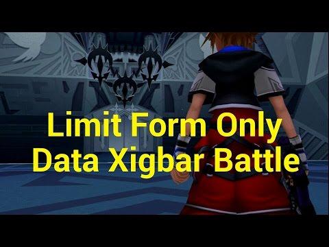 Kingdom Hearts 2 Final Mix - Data Xigbar/Limit Form Only - YouTube