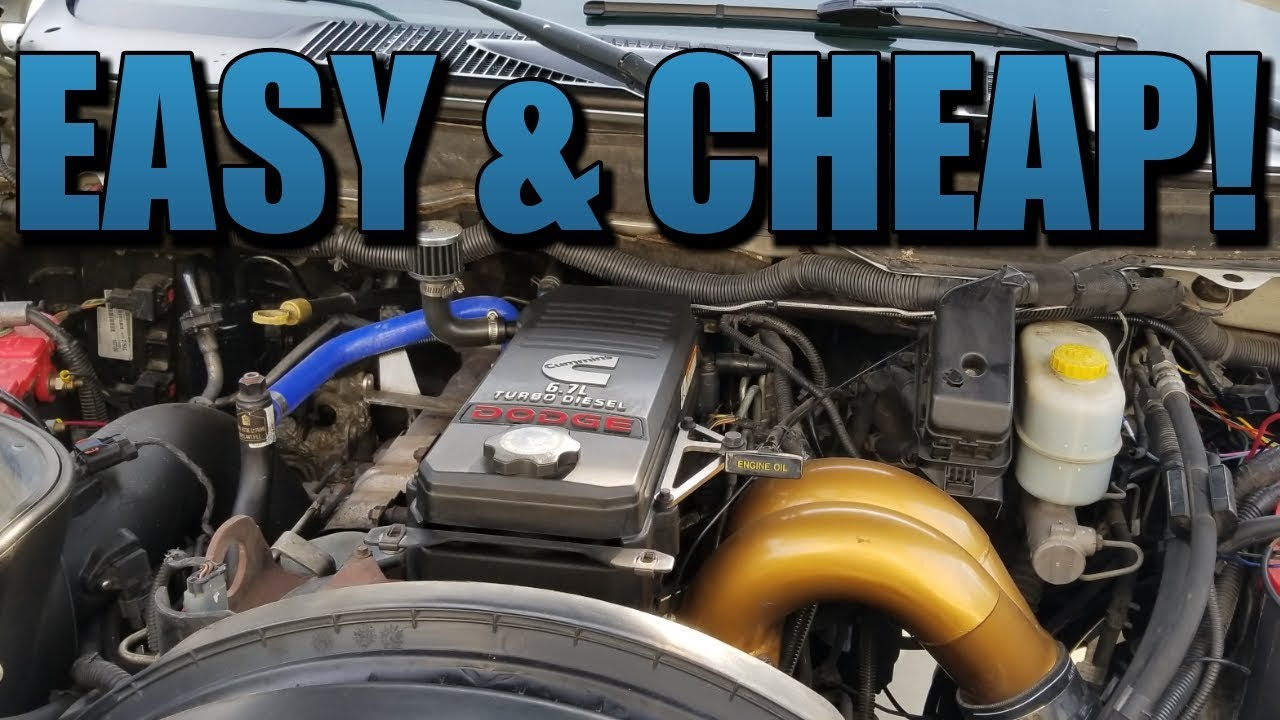 Top 3 Mods For 6 7 Cummins Engine Youtube
