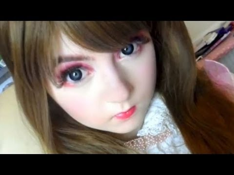 Japanese Barbie Makeup (Licca-Chan Doll)