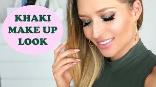 Khaki Make up Look