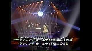 日本テレビの番組『音楽の祭典93』で、もんたよしのりさんと共演したと...