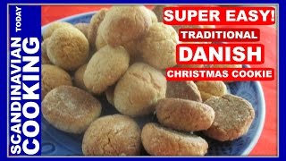 Pebernødder - Danish Peppernut Cookies - A Delicious Danish Christmas Cookie