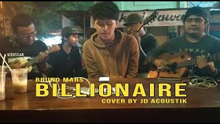 Download Lagu BRUNO MARS - BILLIONAIRE | COVER BY JD ACOUSTIK mp3