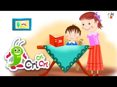 Invatatoarea | Mix | Cantece pentru gradinita si scoala | CriCriCri – Cantece pentru copii in limba romana