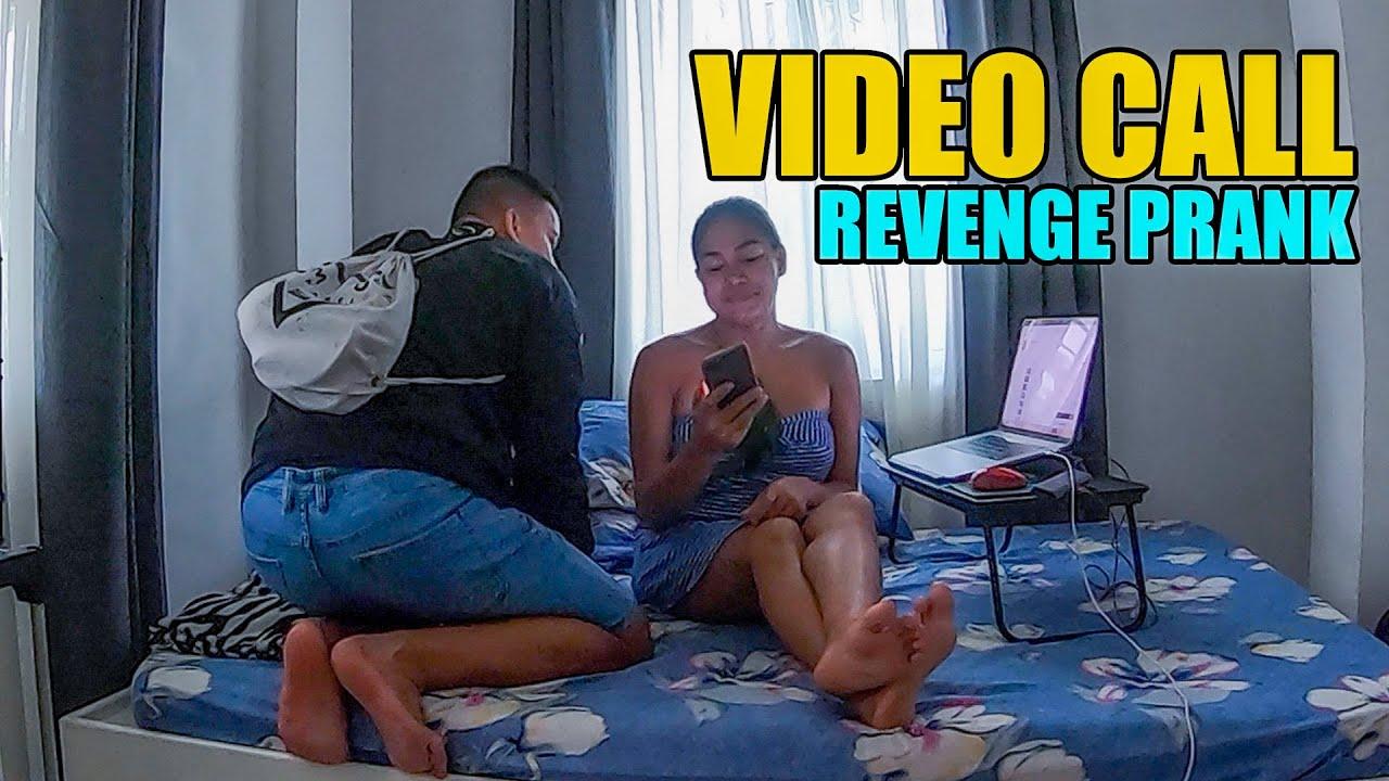 VIDEO CALL REVENGE PRANK ON BOYFRIEND KRAMER FORD!