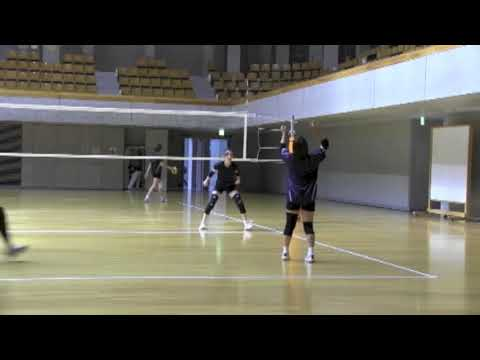 Japan Pro Volleyball Ball Control Routine