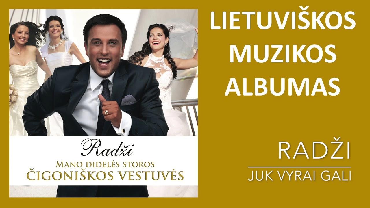 Radži - Mano Didelės Storos Čigoniškos Vestuvės. Lietuviškos Muzikos Albumas