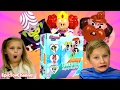 POWERPUFF GIRLS Cartoon Network Saving Townsville Before Bedtime Family Game & Powerpuff Girls Toys
