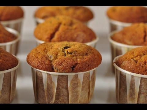 Pumpkin Chocolate Chip Muffins Recipe Demonstration - Joyofbaking.com