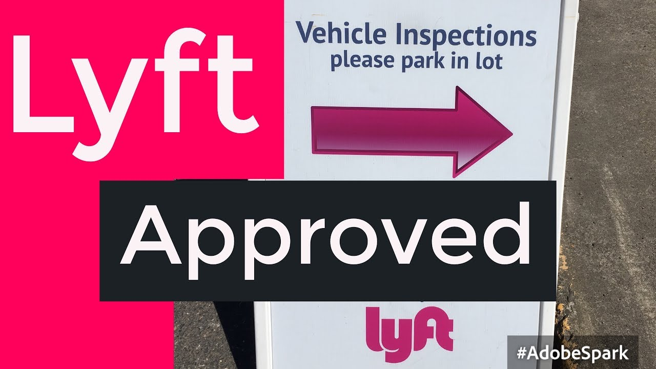 photo relating to Printable Lyft Sign named 2018 Lyft Automobile Inspection! What towards be expecting?