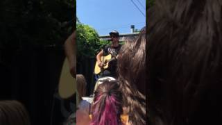 All Time Low - Good Times (Acoustic) - 6/3/17 - Baltimore, MD