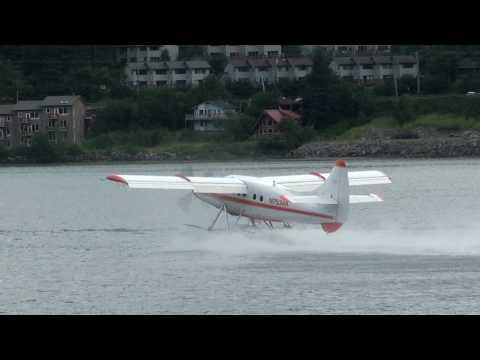 Seaplanes in Juneau, Alaska