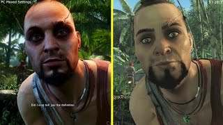 Far Cry 3 PC Maxed Settings vs E3 2011 Gameplay Graphics Comparison