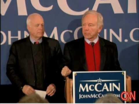 Joe Lieberman Endorses John McCain