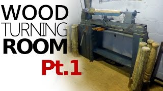 Wood Turning Room - Setting Up Pt. 1
