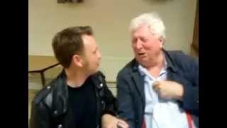 Stuart Grant meets Tom Baker