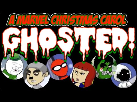 Marvel Christmas Carol 14+ featuring Avengers, Spider-Man, Deadpool, X-Men, Dr. Strange & More
