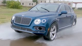 2018 Bentley Bentayga Test Drive