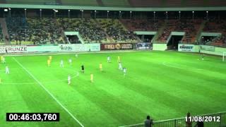ПФК «Сумы» - ФК «Нефтяник-Укрнефть» (11.08.2012)