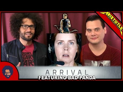 ARRIVAL & MODERN SCIENCE FICTION DISCUSSION!
