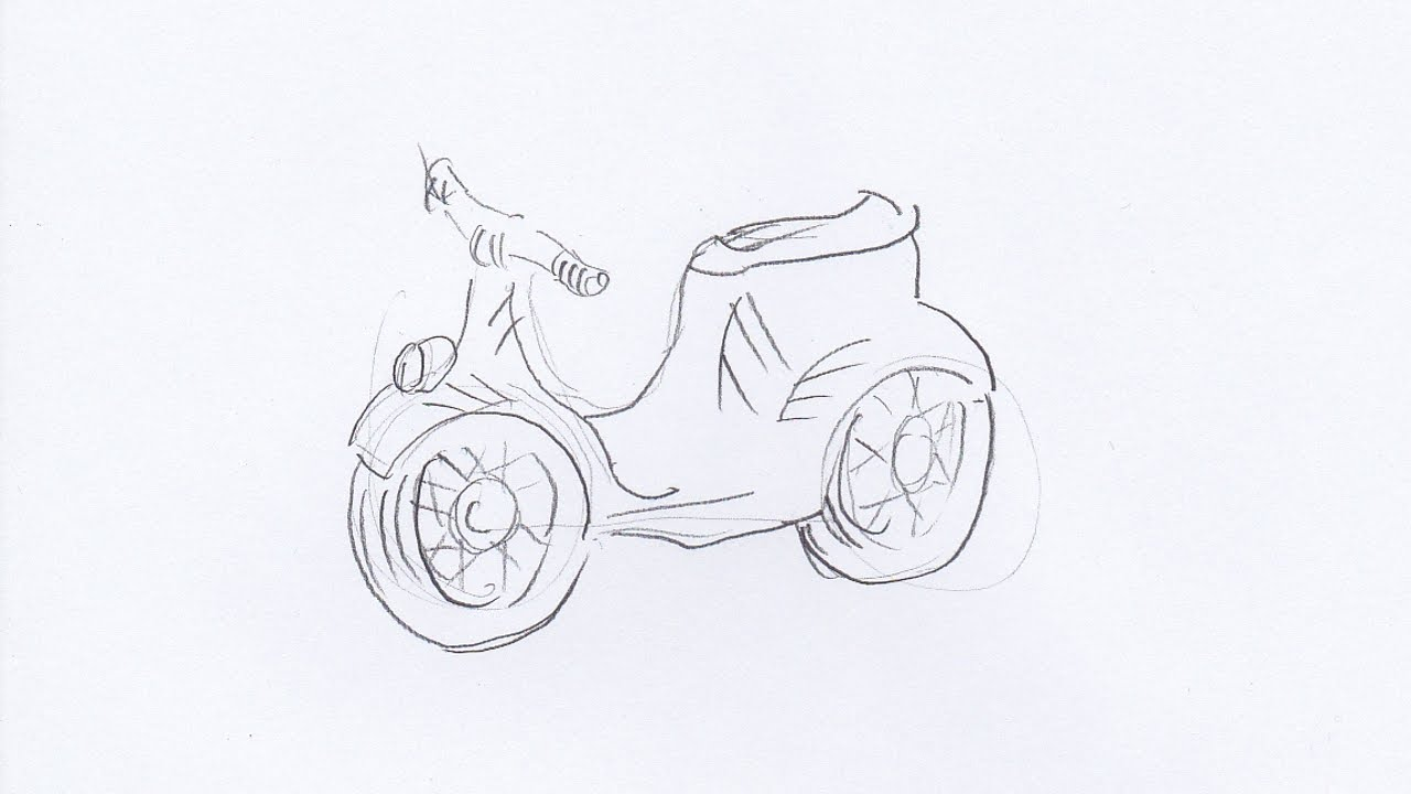 Uncategorized How Do You Draw A Motorcycle how to draw a motorcycle youtube motorcycle