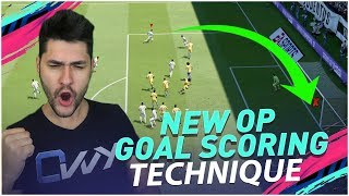 NEW OVERPOWERED WAY TO SCORE GOALS in FIFA 19 - ALMOST IMPOSSIBLE TO DEFEND TECHNIQUE !!!