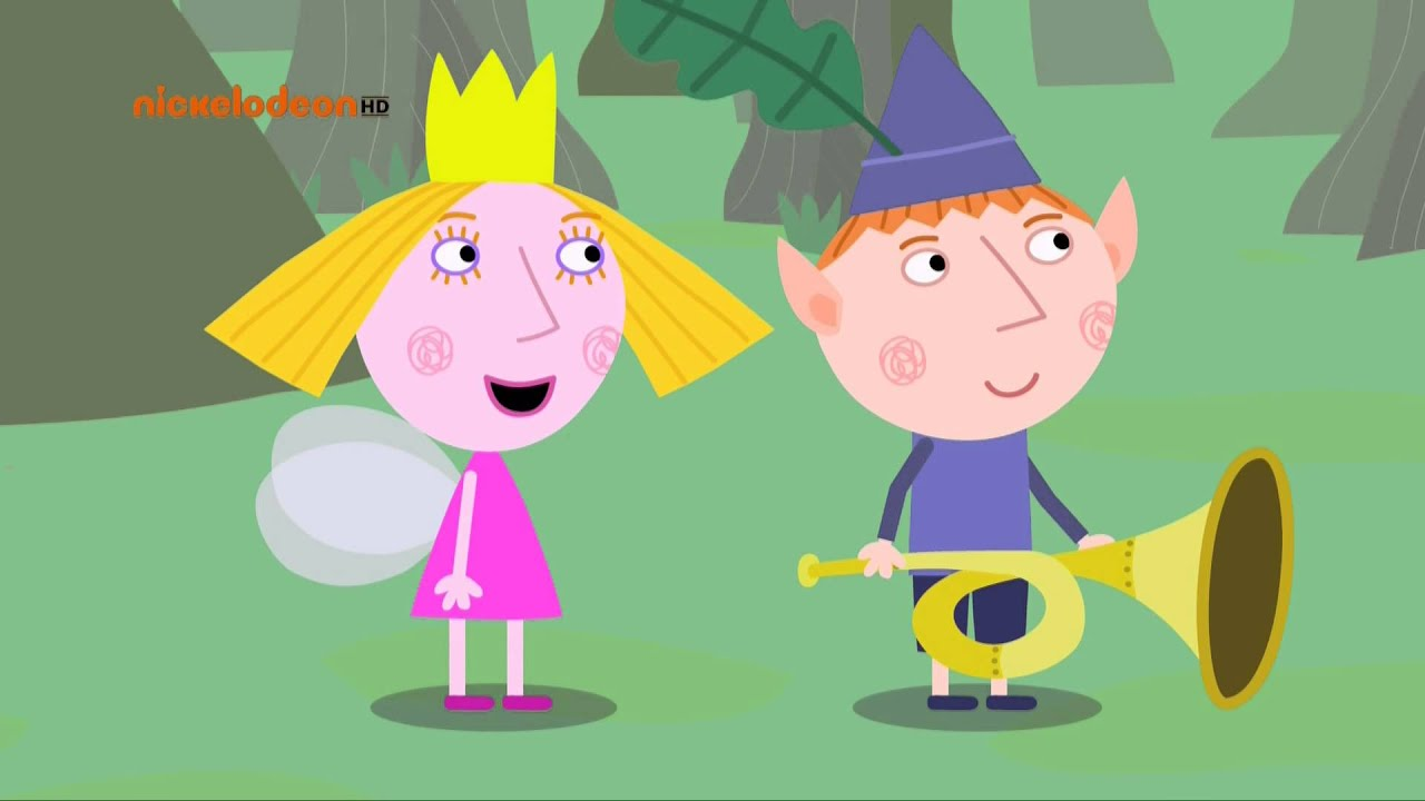 It is a picture of Adorable Ben and Holly Pictures