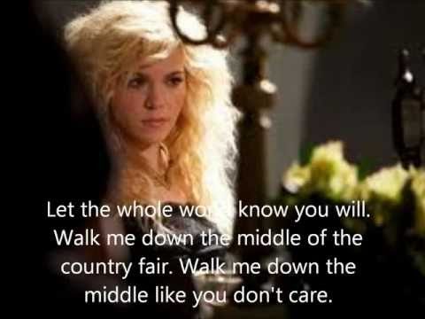 Walk Me Down the Middle - The Band Perry - Lyrics