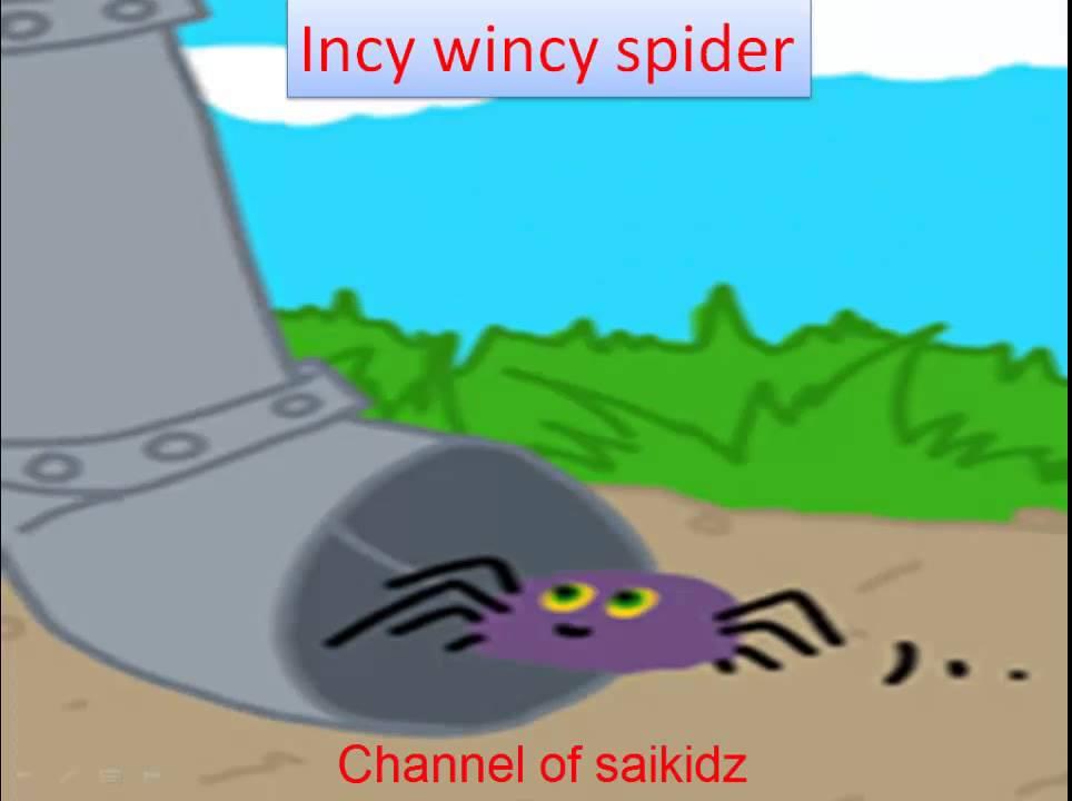 incy wincy spider poem incy wincy spider nursery rhyme - YouTube