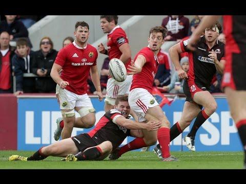 Round Four Highlights: Munster Rugby v Edinburgh Rugby   2016/17 season