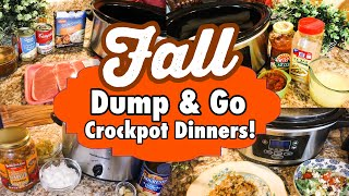 DUMP & GO CROCKPOT DINNERS | 6 DELICIOUS SLOW COOKER RECIPES | JULIA PACHECO