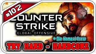 CS:GO TRY HARD HARDCORE #102 - IST ES WAHR?! - Mit HDHomerJ - Dhalucard