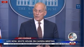 LIVE Chief of Staff Gen John Kelly White House Press Briefing 10/12/17