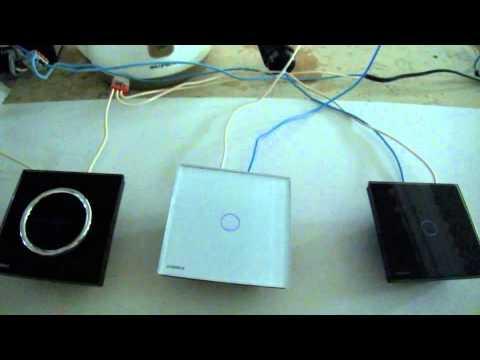 Сенсорные выключатели Livolo