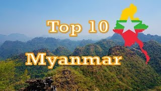 TOP 10 best places to visit in MYANMAR
