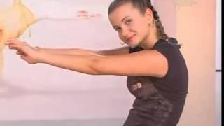 Утренняя гимнастика 1. Укрепление мышц спины(Всего 13 минут утром позволят вам привести ваше тело в тонус., 2012-08-07T11:11:12.000Z)