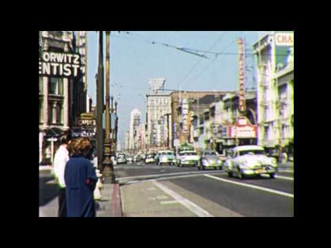 San Francisco in The 1950's