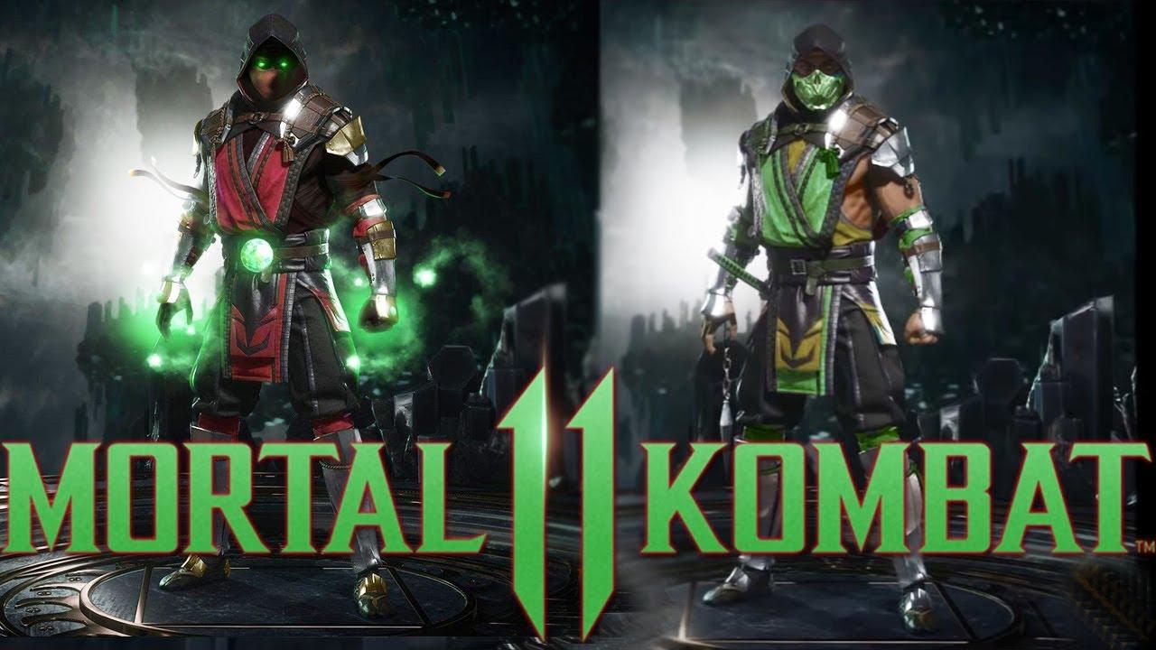 Mortal Kombat 11 Ed Boon Tweets Picture Of Reptile Ermac