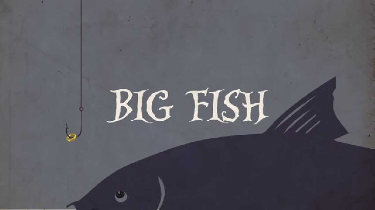 Big fish title sequence youtube for Pictures of big fish