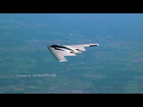 Full Reveal Video inside the B2 Stealth Bomber