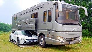 يبدو مثل الحافلة العادية من الخارج ولكن لن تصدقوا ما بداخله !!