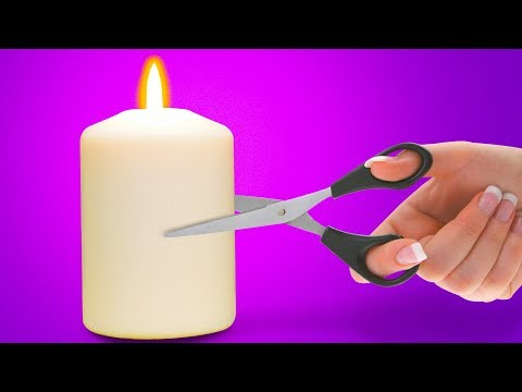 18 CUTE CANDLE HACKS FOR THE WHOLE FAMILY