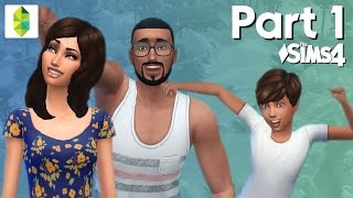 Let's Play The Sims 4  - Part 1 (Outdoor Retreat)