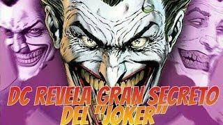 "DC REVELA GRAN SECRETO DEL ""JOKER"" | Zona Freak"